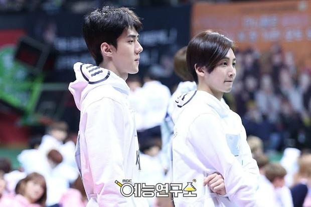 5 sự cố xấu hổ nhất Kbiz: Sehun (EXO) nhận nhầm bạn thân chưa sốc bằng nam idol rách quần ngay trên truyền hình - Ảnh 6.