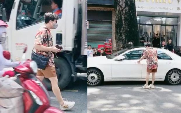 Netizen tranh cãi clip Trấn Thành thong dong bước sang đường, nghi vấn phớt lờ đề nghị chụp ảnh cùng fan - Ảnh 3.