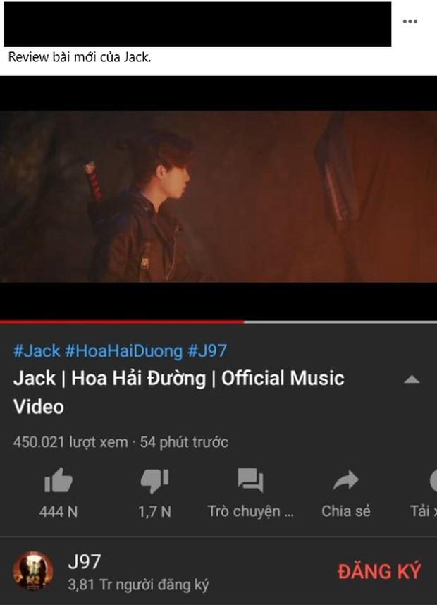 Netizen có ý kiến trái chiều về MV mới của Jack: Người ca ngợi là sản phẩm hay nhất, kẻ cho rằng rời xa K-ICM là bão tố? - Ảnh 4.