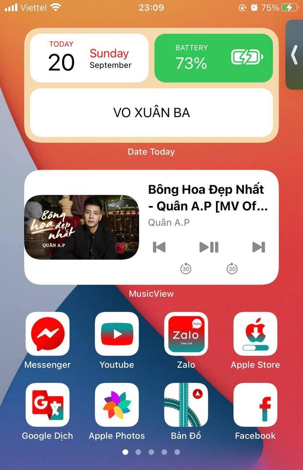 Widget trên iOS 14 đang tạo nên cơn sốt, cộng đồng đua nhau sáng tạo giao diện iPhone cực đẹp! - Ảnh 4.