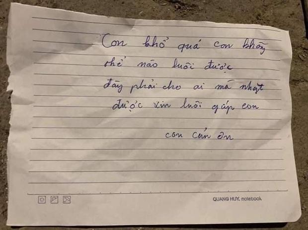 Hà Nội: Bé gái sơ sinh bị bỏ rơi trong thùng rác kèm lời nhắn con khổ quá con không nuôi được - Ảnh 2.