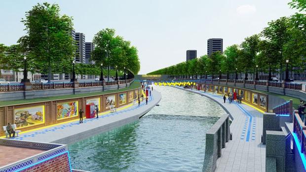 Đề xuất cải tạo sông Tô Lịch thành công viên Lịch sử - Văn hoá - Tâm linh: Xử lý triệt để các nguồn ô nhiễm trong và ngoài, từ đó hồi sinh dòng sông - Ảnh 1.