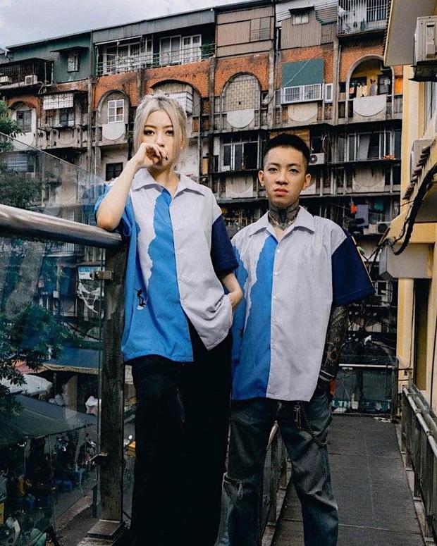 Nhìn Tlinh và MCK mới thấy cách diện đồ đôi của hội rapper hay ra phết: Toàn đồ local brand chất không kém brand nước ngoài - Ảnh 7.