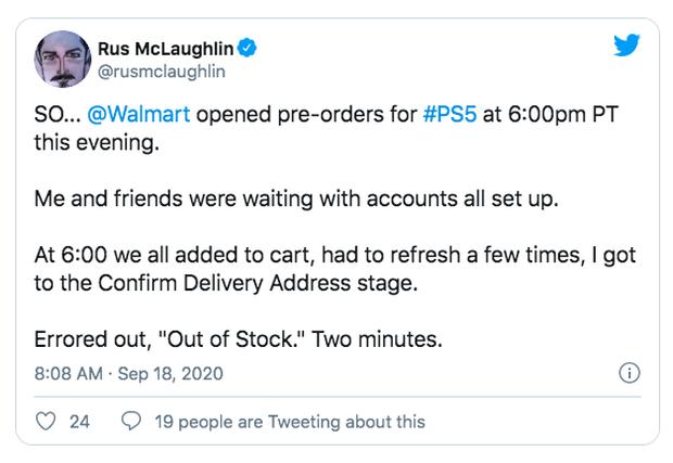 PS5 vừa mở bán, sold out ngay trong vài phút - Ảnh 2.