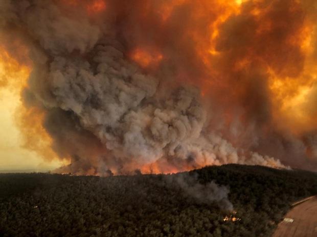 Khói bụi từ cháy rừng ở Australia làm thiệt hại 1,95 tỷ AUD về y tế  - Ảnh 1.