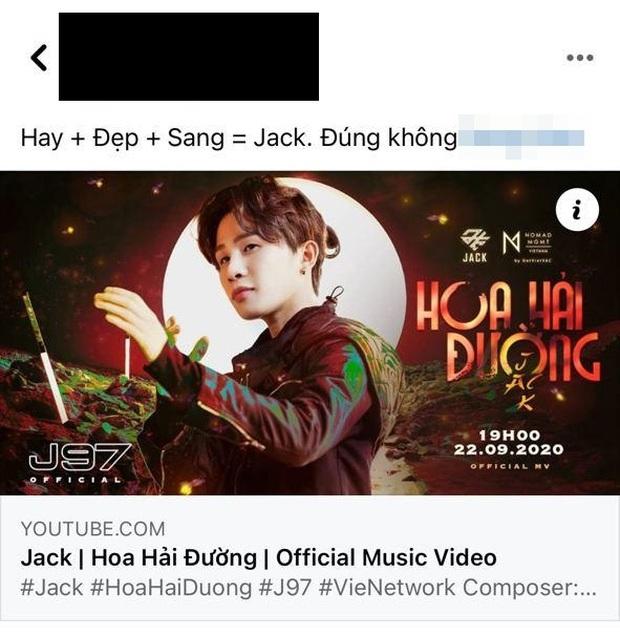Netizen có ý kiến trái chiều về MV mới của Jack: Người ca ngợi là sản phẩm hay nhất, kẻ cho rằng rời xa K-ICM là bão tố? - Ảnh 6.