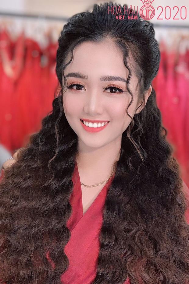 VĐV Judo thi Hoa hậu Việt Nam 2020: Cô giáo có kinh nghiệm học võ 10 năm, diện mạo lộng lẫy bất ngờ sau khi lên đồ - Ảnh 3.