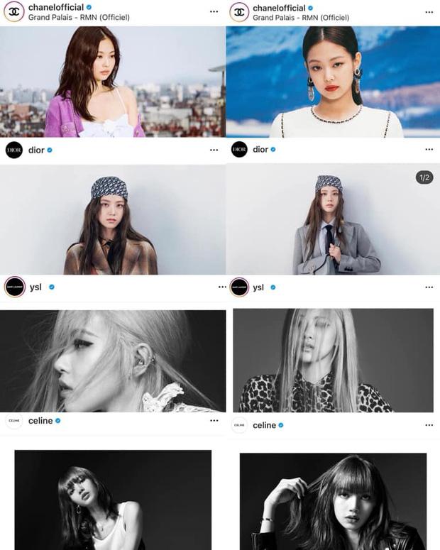 4 cô đại sứ BLACKPINK khi lên Instagram của nhà mốt lớn: Jennie, Jisoo biến hóa đa dạng nhưng Rosé có màn lột xác đáng gờm nhất  - Ảnh 1.