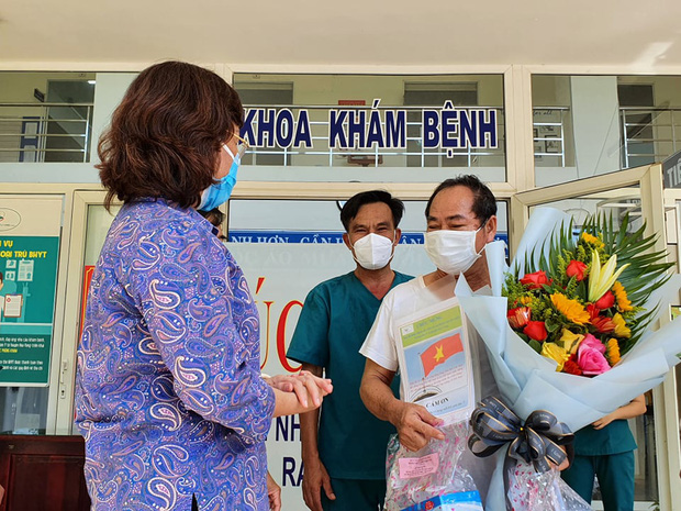 Bệnh nhân Covid-19 cuối cùng ở Đà Nẵng xuất viện - Ảnh 1.