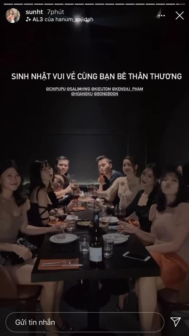 Sun HT đăng ảnh đón sinh nhật cùng Chi Pu và những người bạn thân thương nhưng không có Quỳnh Anh Shyn - Ảnh 2.