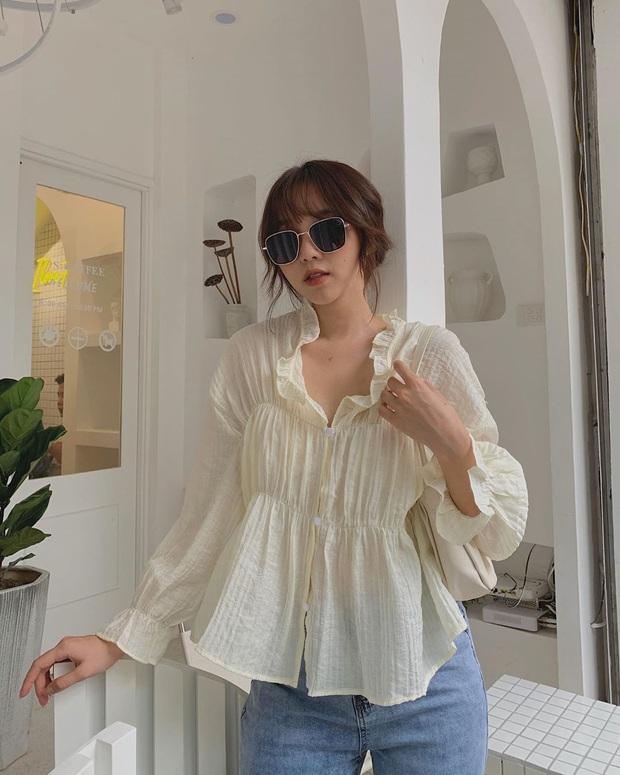 """6 kiểu áo blouse đáng sắm thu này, diện lên cô gái nào cũng có thêm vài phần """"chanh sả"""" - Ảnh 11."""