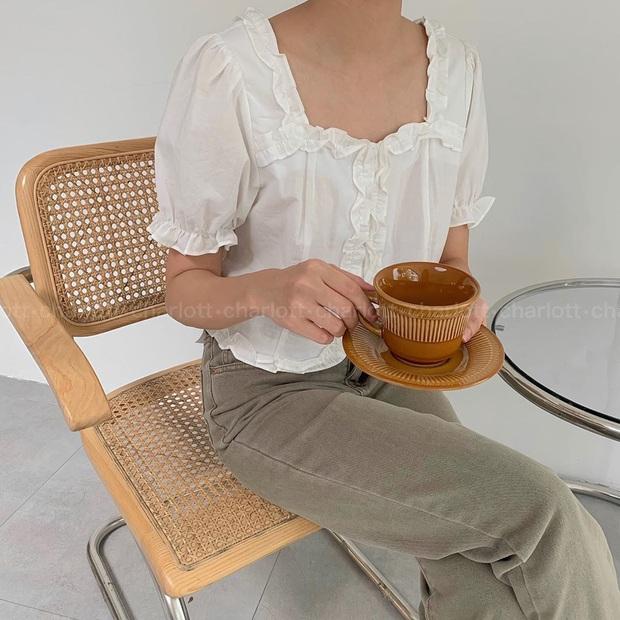"""6 kiểu áo blouse đáng sắm thu này, diện lên cô gái nào cũng có thêm vài phần """"chanh sả"""" - Ảnh 7."""