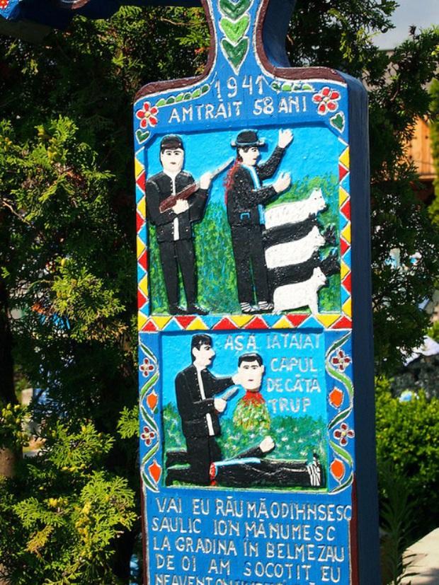 Ngôi làng Rumani có truyền thống khắc thơ tục tĩu và cợt nhả lên bia mộ người đã khuất - Ảnh 10.