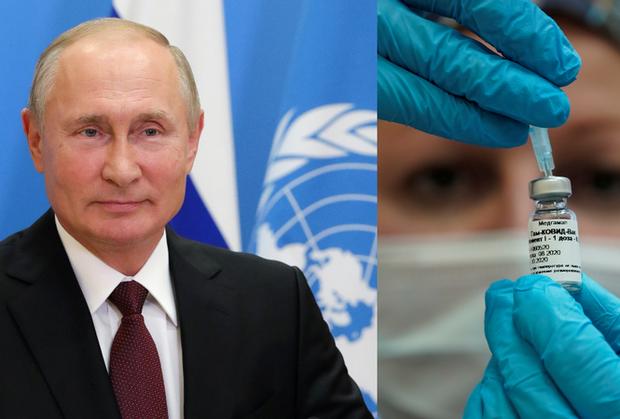 Ông Putin đề nghị tặng vắc-xin COVID-19 miễn phí cho nhân viên Liên hợp quốc - Ảnh 1.