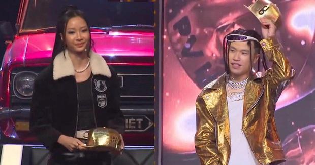 Rap Việt: Mới 2 vòng Đối đầu đã ngốn 3 nón vàng, đội Suboi hay Binz sẽ chịu thiệt? - Ảnh 1.
