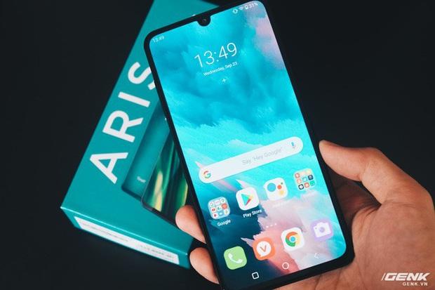 Chi tiết Vsmart Aris giá 7,5 triệu: Mặt lưng kính nhám, hiệu năng ổn, chỉ tiếc màn hình giọt nước - Ảnh 19.