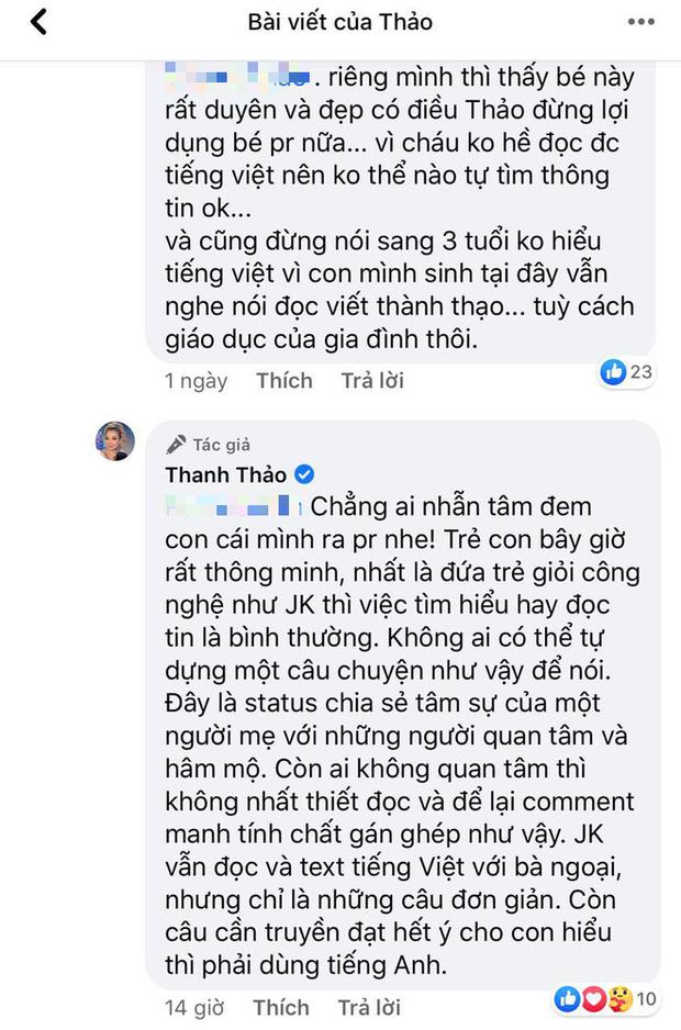 Bị tố khui lại chuyện con trai Ngô Kiến Huy để chiêu trò, Thanh Thảo lên tiếng đáp trả đanh thép! - Ảnh 2.