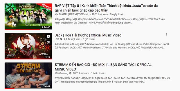 Lên sóng chưa lâu, Hoa Hải Đường của Jack đã debut #1 BXH Realtime HOT14, đạt gần 3 triệu view trên YouTube - Ảnh 6.