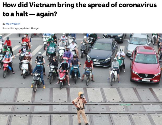 Báo Úc viết về đợt chống dịch Covid-19 lần 2 của Việt Nam: Họ đã làm quá tốt, nhanh gọn hiệu quả mà ít tổn thương - Ảnh 1.