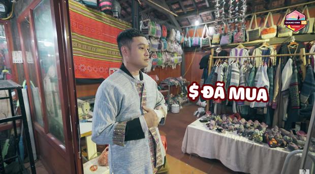 Đến Sapa nhưng chỉ mải mê đi... shopping, Hứa Vĩ Văn và Quang Vinh rinh về toàn quần áo thổ cẩm - Ảnh 6.