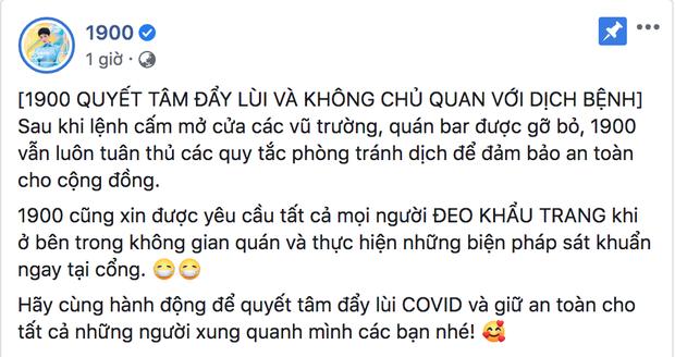 Có 1-0-2: Club 1900 ở Hà Nội yêu cầu tất cả khách đeo khẩu trang rồi mới được vào - Ảnh 2.