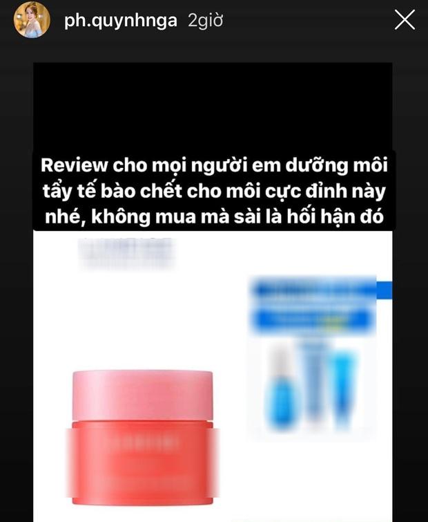 Tài khoản giả bám fame Quỳnh Nga quảng cáo đồ skincare nhưng chính chủ vẫn thở phào nhẹ nhõm vì lý do rất nhân văn - Ảnh 7.