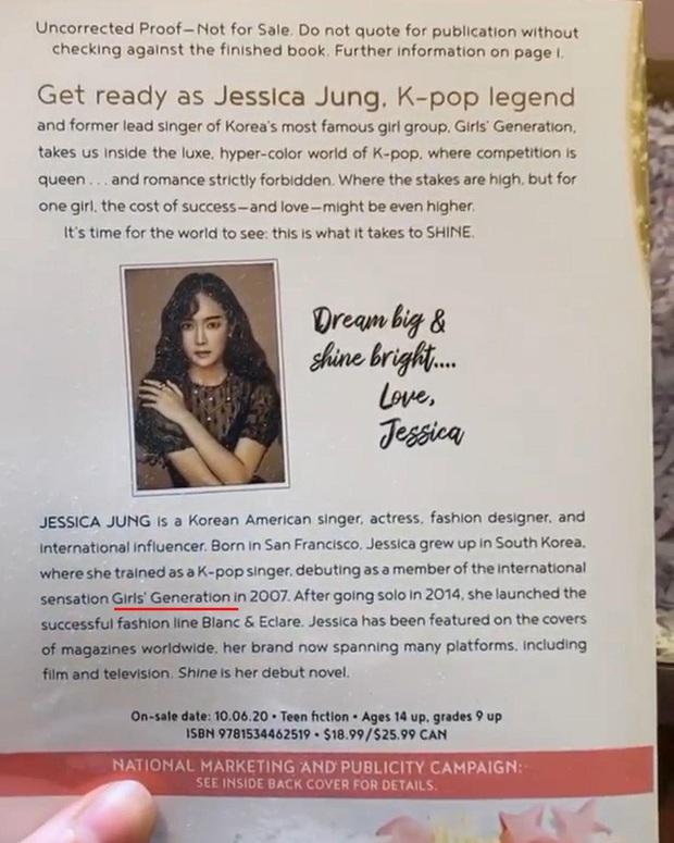 Hoãn tung tiểu thuyết, Jessica không nhận là cựu thành viên SNSD nhưng lại 7749 lần để nhóm cũ làm cameo trên bìa sách? - Ảnh 11.