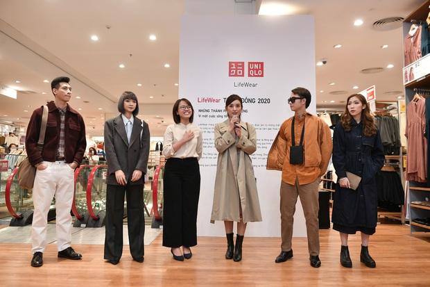 Mẫn Tiên công khai đi cùng bạn trai, Miss Au Ngọc Anh và dàn KOL tụ hội tại buổi ra mắt cửa hàng UNIQLO thứ 2 tại Hà Nội - Ảnh 10.