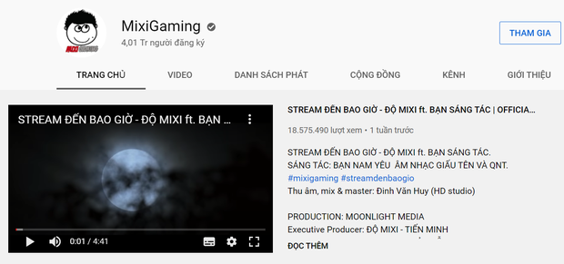 Sau nhiều lùm xùm đáng quên, kênh YouTube Độ Mixi chính thức cán mốc 4 triệu subcriber - Ảnh 5.