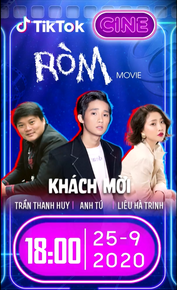"""Đạo diễn, diễn viên phim """"Ròm"""" livestream chia sẻ hậu trường phim trên TikTok - Ảnh 2."""
