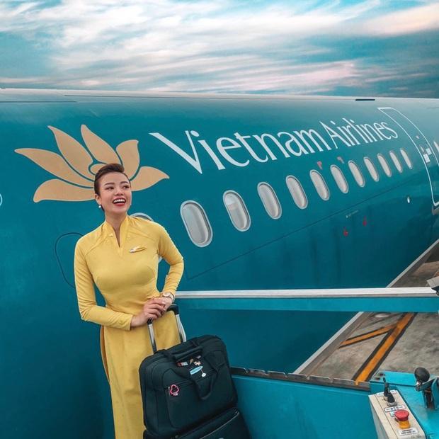 Nữ tiếp viên trưởng xinh đẹp của Vietnam Airlines bật mí thu nhập thật và quá trình lên chức gắt gao  - Ảnh 4.
