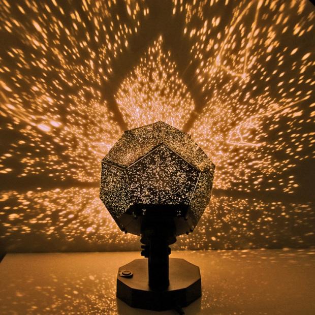 Cả vũ trụ bỗng thu bé lại chỉ bằng 1 căn phòng, tất cả là nhờ đèn ngủ chiếu sao ảo diệu - Ảnh 15.