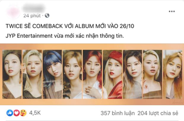 TWICE chốt ngày comeback cùng tháng với BLACKPINK và đàn em BTS, fan lập tức doạ JYP: Làm ăn cho đàng hoàng vào! - Ảnh 4.
