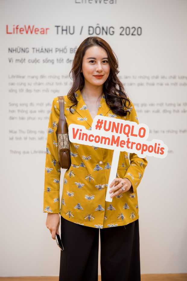 Mẫn Tiên công khai đi cùng bạn trai, Miss Au Ngọc Anh và dàn KOL tụ hội tại buổi ra mắt cửa hàng UNIQLO thứ 2 tại Hà Nội - Ảnh 4.