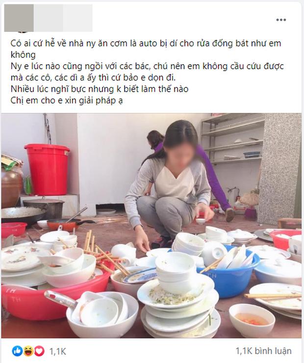 Than thở lần nào về nhà người yêu ăn cơm cũng bị dí cho rửa cả núi bát đĩa, cô gái lên mạng nhờ chị em mách nước - Ảnh 1.