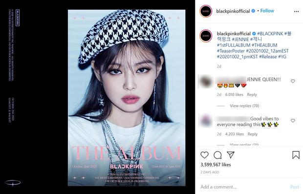 Đọ teaser cá nhân của BLACKPINK: Jennie nắm trùm lượt thích còn Jisoo thoát cảnh đội sổ, vị trí bét bảng thuộc về ai? - Ảnh 10.