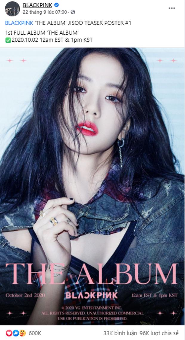Đọ teaser cá nhân của BLACKPINK: Jennie nắm trùm lượt thích còn Jisoo thoát cảnh đội sổ, vị trí bét bảng thuộc về ai? - Ảnh 4.