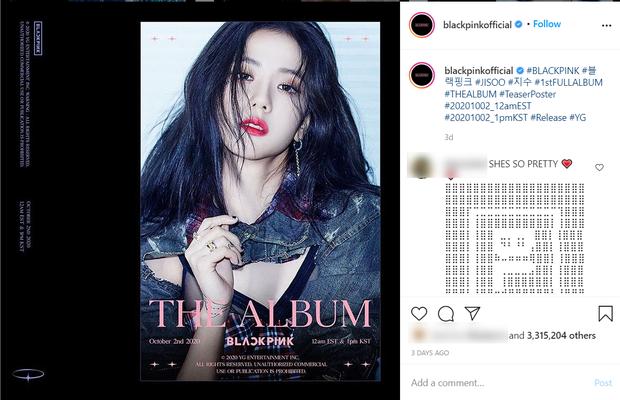 Đọ teaser cá nhân của BLACKPINK: Jennie nắm trùm lượt thích còn Jisoo thoát cảnh đội sổ, vị trí bét bảng thuộc về ai? - Ảnh 11.