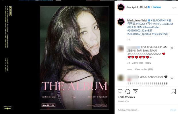 Đọ teaser cá nhân của BLACKPINK: Jennie nắm trùm lượt thích còn Jisoo thoát cảnh đội sổ, vị trí bét bảng thuộc về ai? - Ảnh 15.