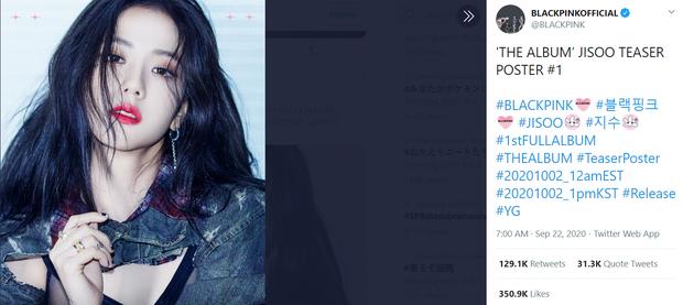Đọ teaser cá nhân của BLACKPINK: Jennie nắm trùm lượt thích còn Jisoo thoát cảnh đội sổ, vị trí bét bảng thuộc về ai? - Ảnh 20.