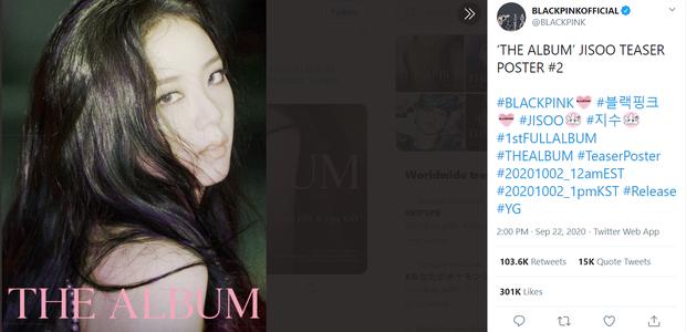 Đọ teaser cá nhân của BLACKPINK: Jennie nắm trùm lượt thích còn Jisoo thoát cảnh đội sổ, vị trí bét bảng thuộc về ai? - Ảnh 21.