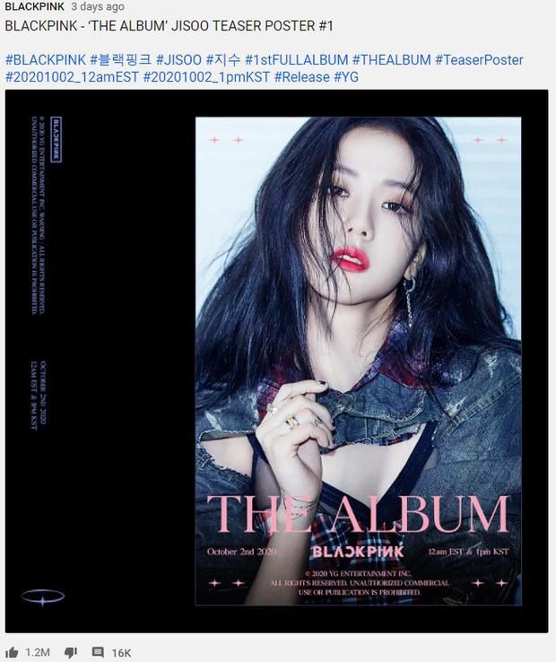 Đọ teaser cá nhân của BLACKPINK: Jennie nắm trùm lượt thích còn Jisoo thoát cảnh đội sổ, vị trí bét bảng thuộc về ai? - Ảnh 26.