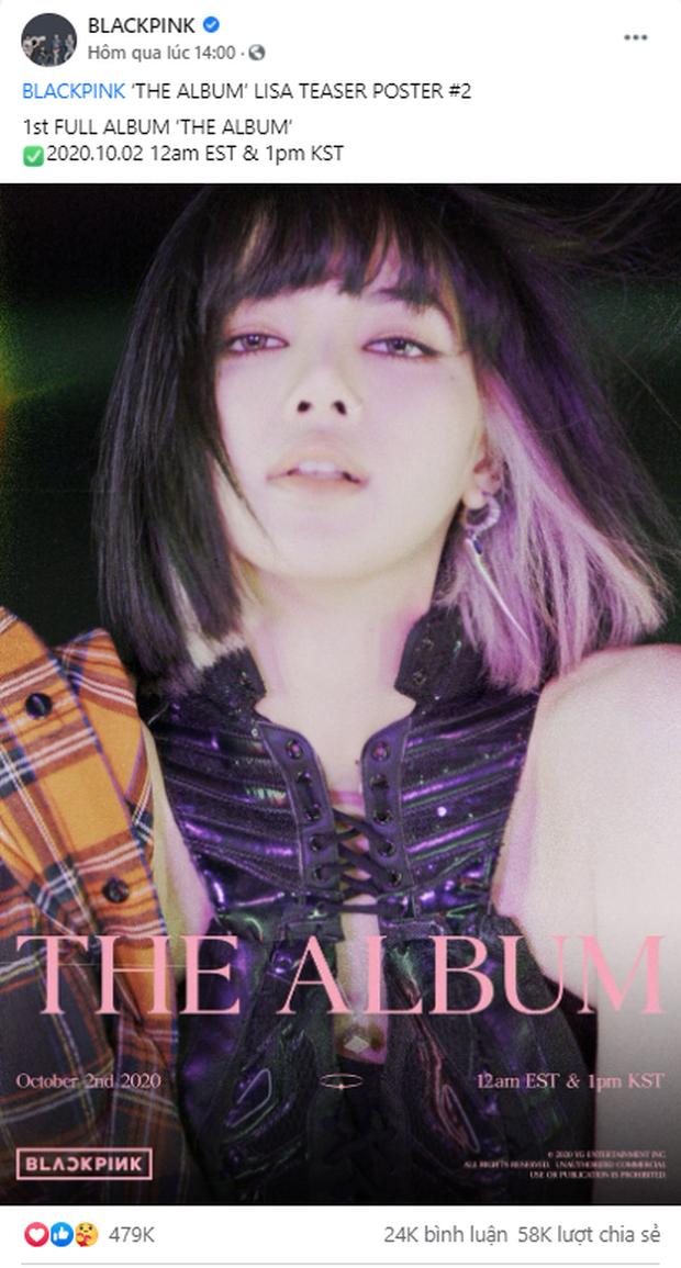 Đọ teaser cá nhân của BLACKPINK: Jennie nắm trùm lượt thích còn Jisoo thoát cảnh đội sổ, vị trí bét bảng thuộc về ai? - Ảnh 7.