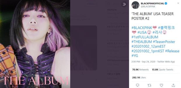 Đọ teaser cá nhân của BLACKPINK: Jennie nắm trùm lượt thích còn Jisoo thoát cảnh đội sổ, vị trí bét bảng thuộc về ai? - Ảnh 23.