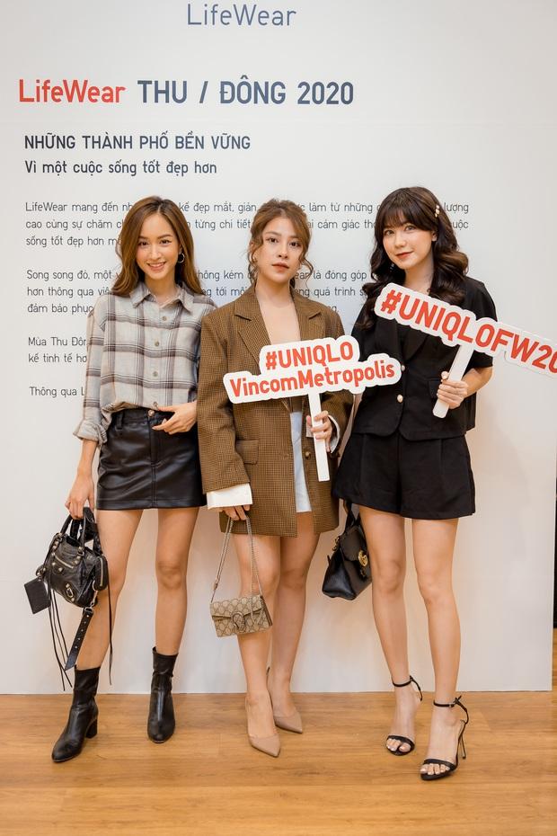 Mẫn Tiên công khai đi cùng bạn trai, Miss Au Ngọc Anh và dàn KOL tụ hội tại buổi ra mắt cửa hàng UNIQLO thứ 2 tại Hà Nội - Ảnh 5.