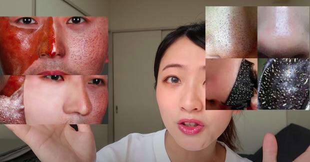 Beauty blogger người Nhật dạy cách trị mụn đầu đen ngay từ bước rửa mặt, nhấn mạnh lột mụn làm da lão hóa cực nhanh - Ảnh 3.