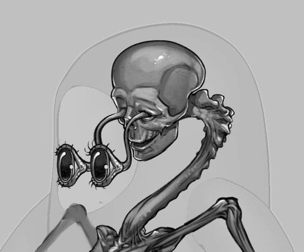 Đối thủ của Among Us, tựa game khiến Độ Mixi, Dũng CT mê mẩn tung thiết kế bên trong nhân vật cực kỳ creepy - Ảnh 6.