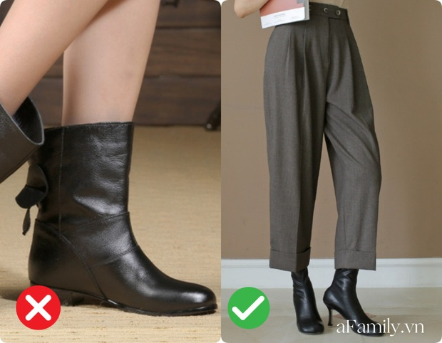 Diện quần ống rộng nếu không muốn dìm chiều cao tận đáy vực sâu thì nên tránh xa những kiểu giày dép này - Ảnh 7.