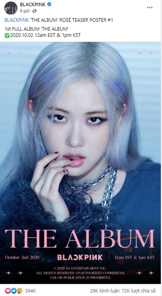 Đọ teaser cá nhân của BLACKPINK: Jennie nắm trùm lượt thích còn Jisoo thoát cảnh đội sổ, vị trí bét bảng thuộc về ai? - Ảnh 8.