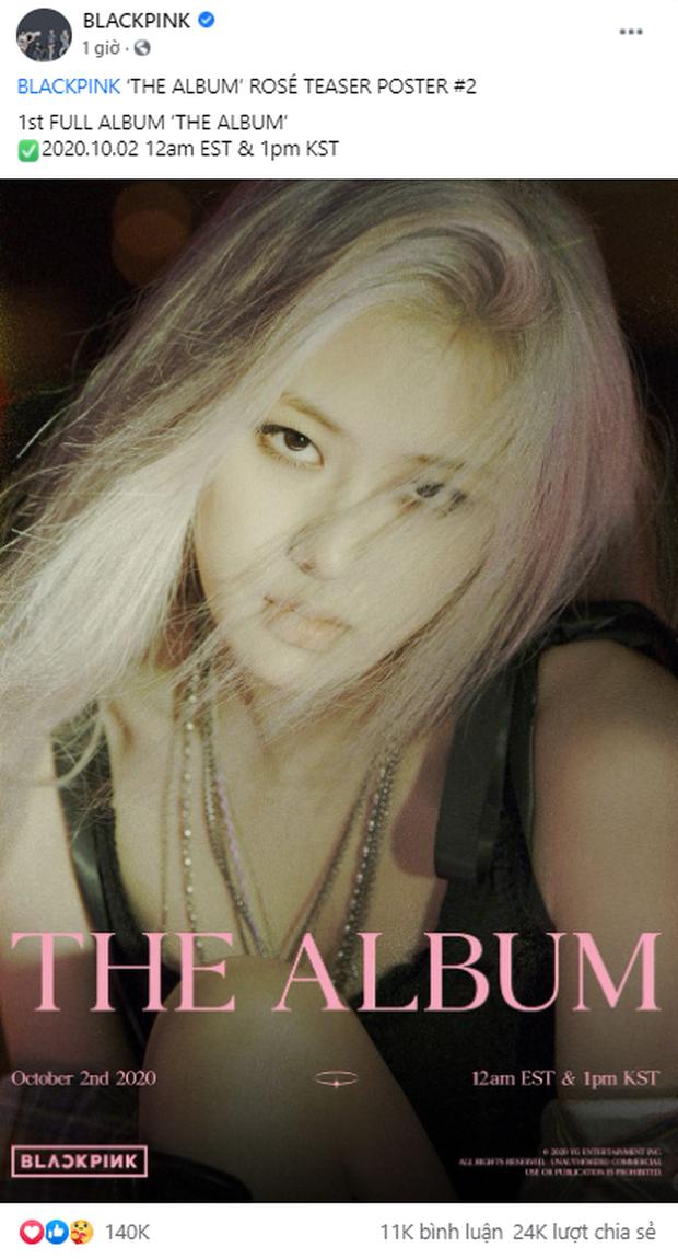 Đọ teaser cá nhân của BLACKPINK: Jennie nắm trùm lượt thích còn Jisoo thoát cảnh đội sổ, vị trí bét bảng thuộc về ai? - Ảnh 9.